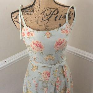 Vintage Floral Sundress